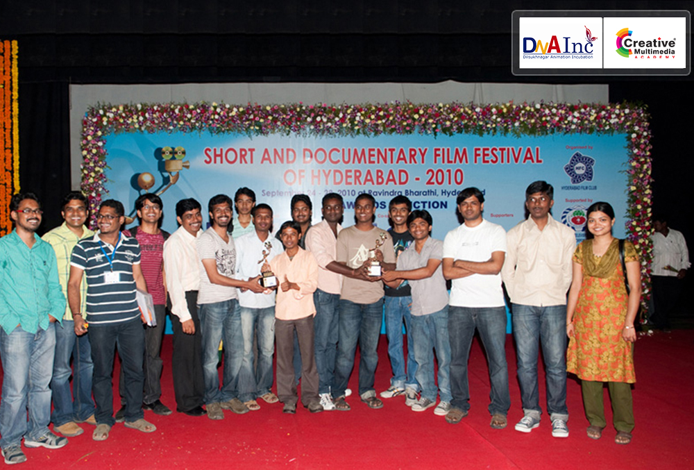 SPECIAL JURY AWARD at the Short and Documentary Film Festival of Hyderabad