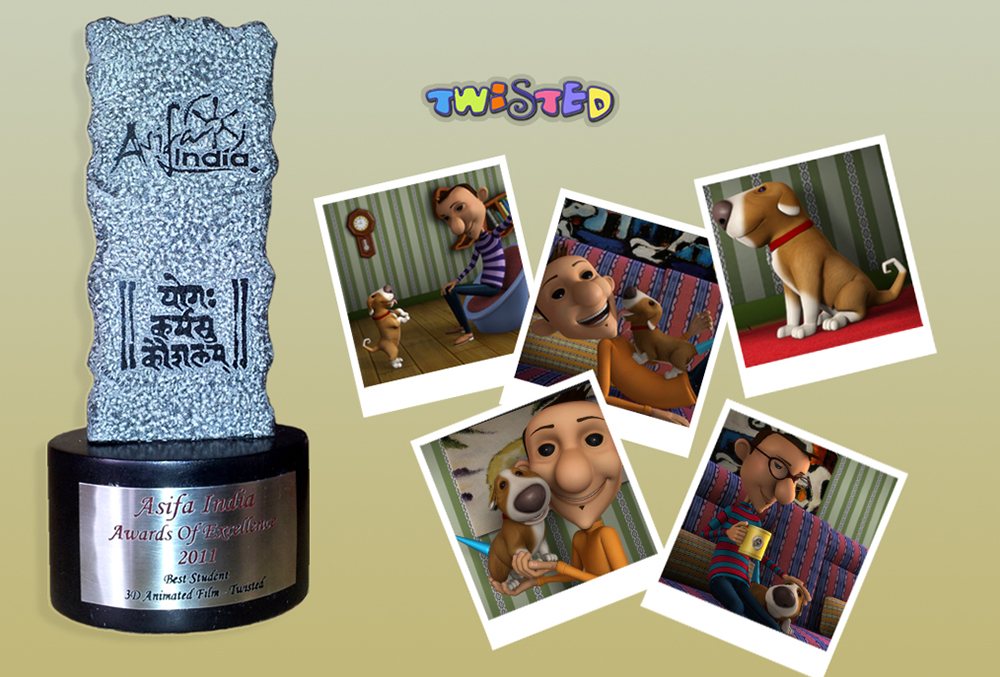 Twisted - Animation Award - Best Multimedia Education
